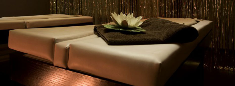 L'intérieur d'un salon de massage sensuel